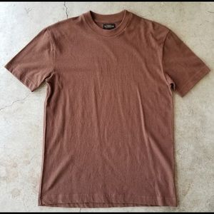 Urban Outfitters CPO Provisions Brown Basic Tee